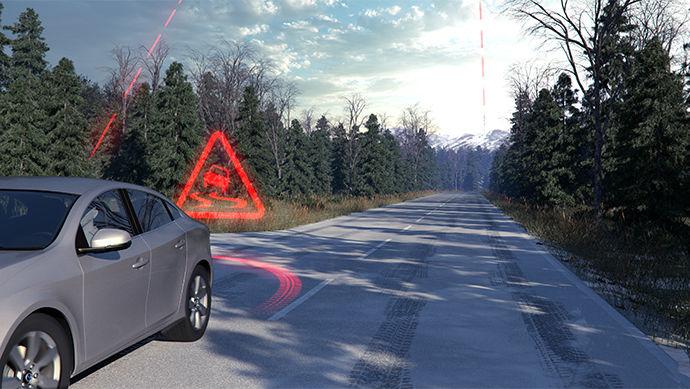 Мережа безпечного водіння від Volvo