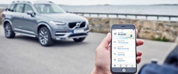 Вся інформацію про ваш Volvo - у вашому смартфоні