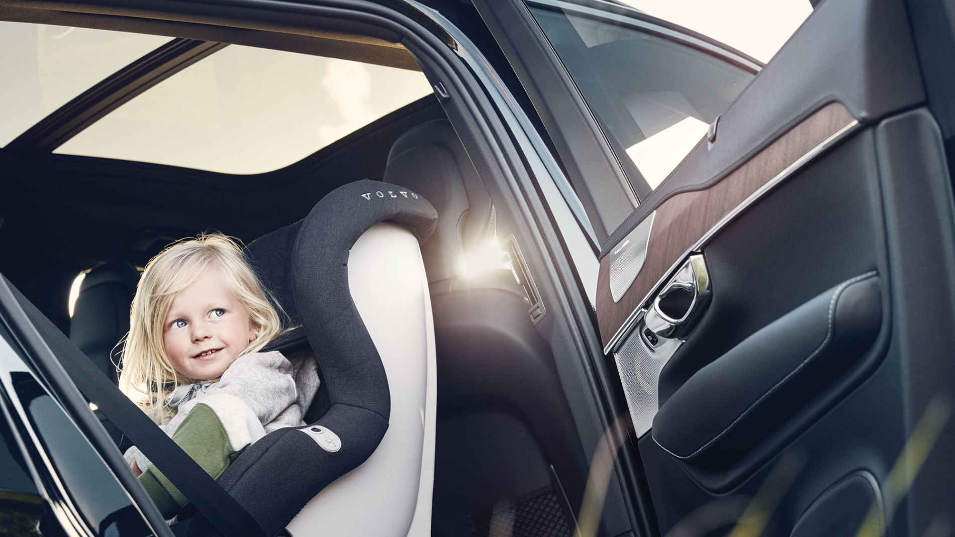 Дитячі крісла від Volvo Cars